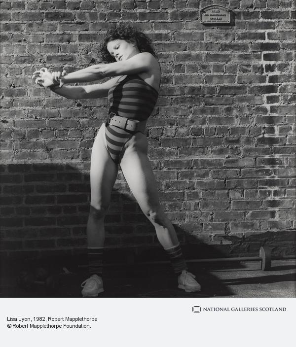 Fotó: Robert Mapplethorpe: Lisa Lyon, 1982 © Robert Mapplethorpe Foundation