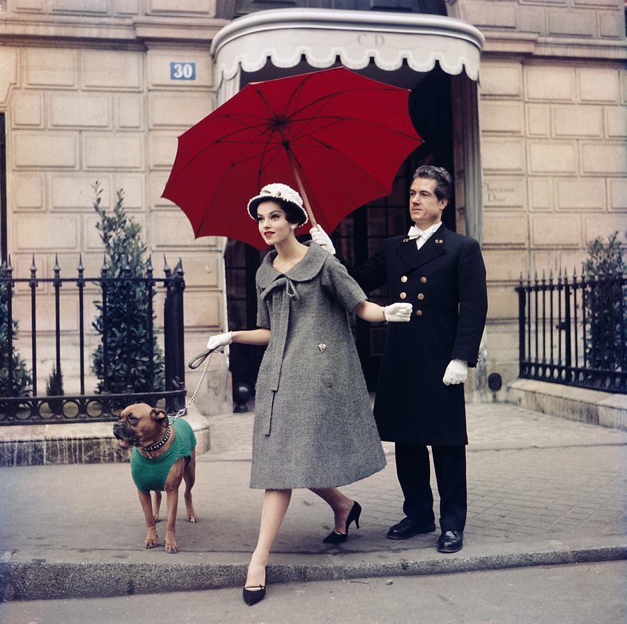 Fotó: Sabine Weiss<br />Chez Dior, Paris<br />1958<br />© Sabine Weiss