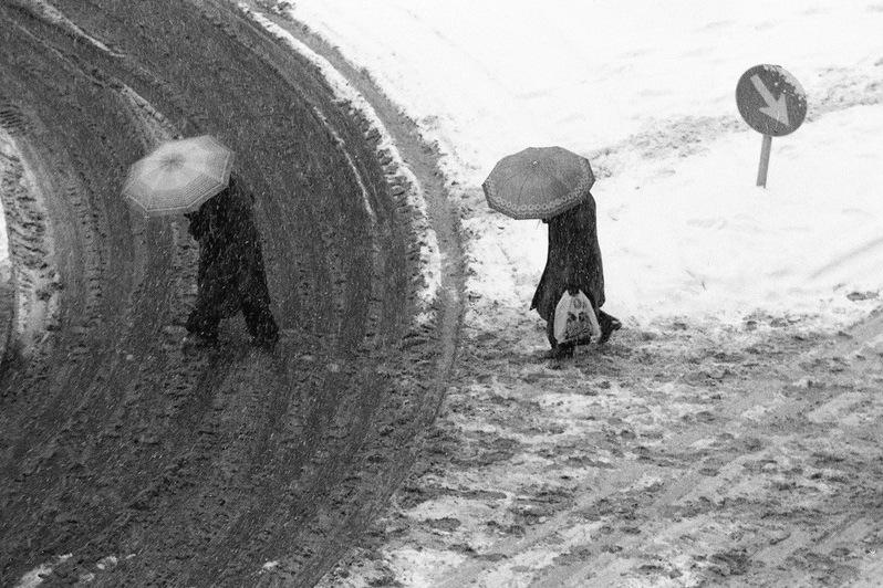 Fotó: Szabó Judit: Budapest, 1980-as évek © Szabó Judit