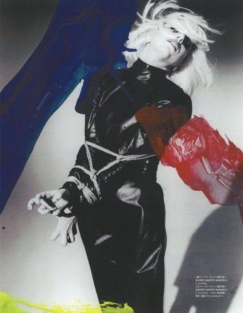 Fotó: Nobuyoshi Araki: Lady Gaga, 2009 © Nobuyoshi Araki