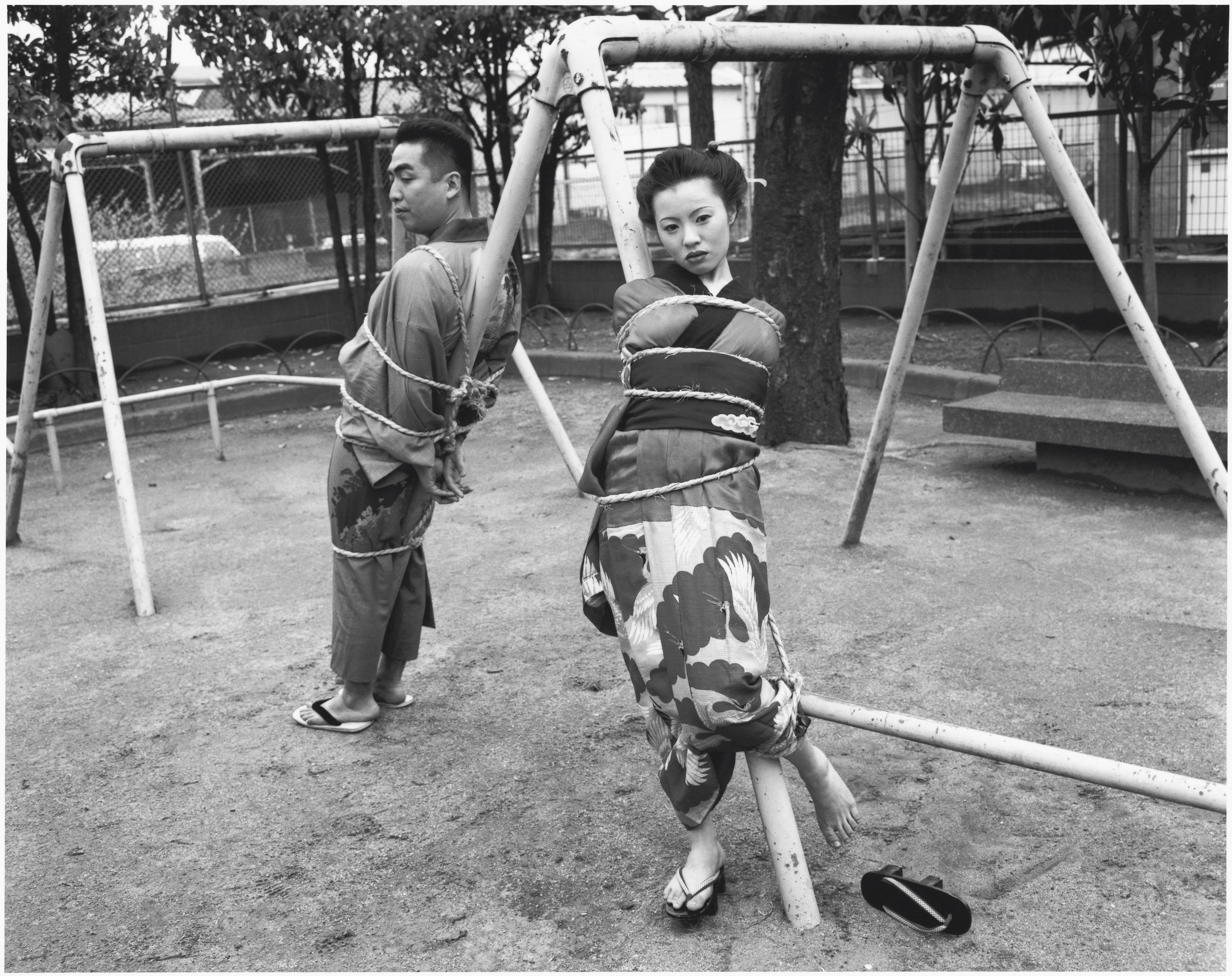 Fotó: Nobuyoshi Araki: Tokyo Comedy, 1997 © Nobuyoshi Araki