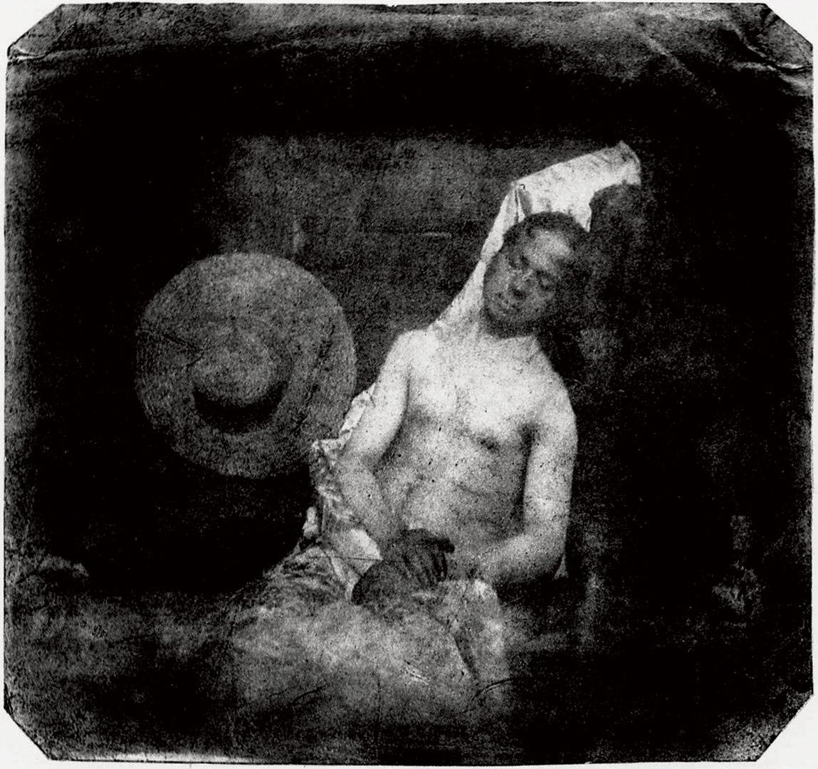 Fotó: Hippolyte Bayard: Önarckép vízbefúltan, 1840. október 18.