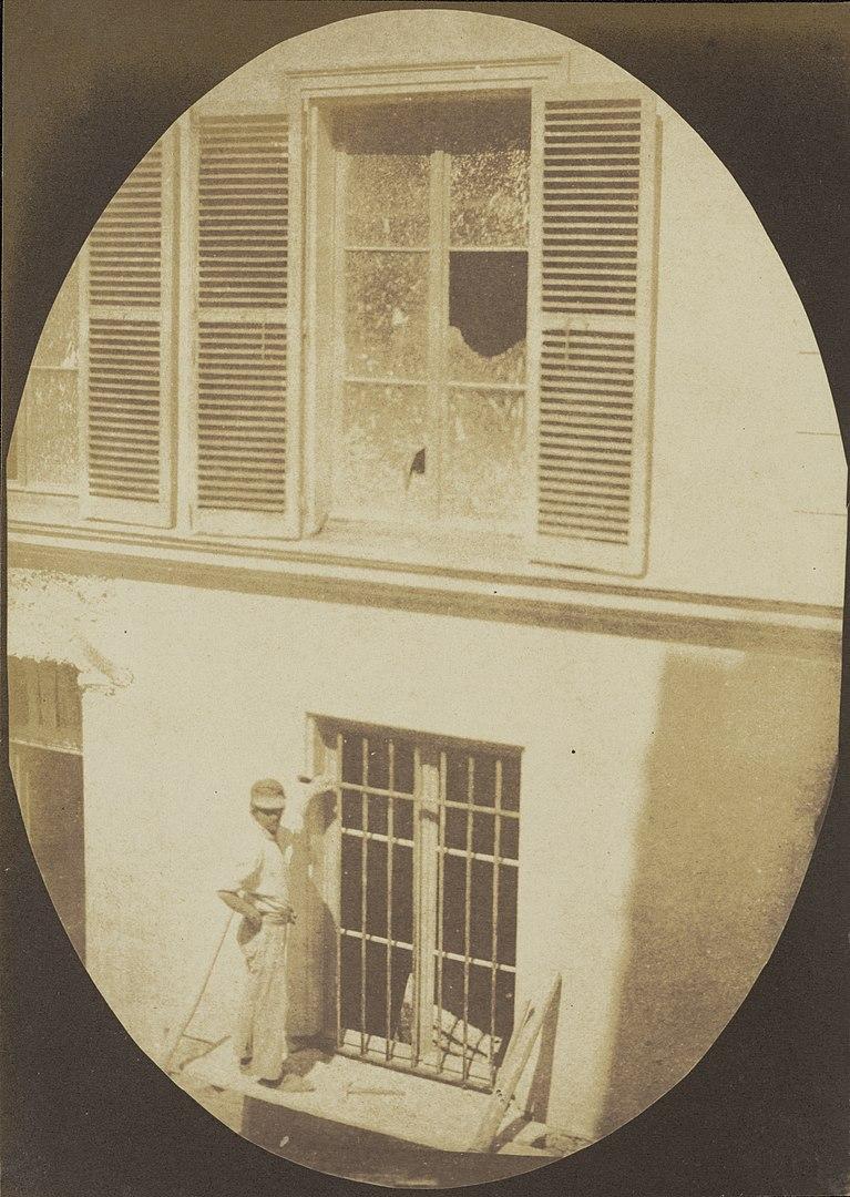 Fotó: Hippolyte Bayard: Építőmunkás, Párizs, 1846 körül