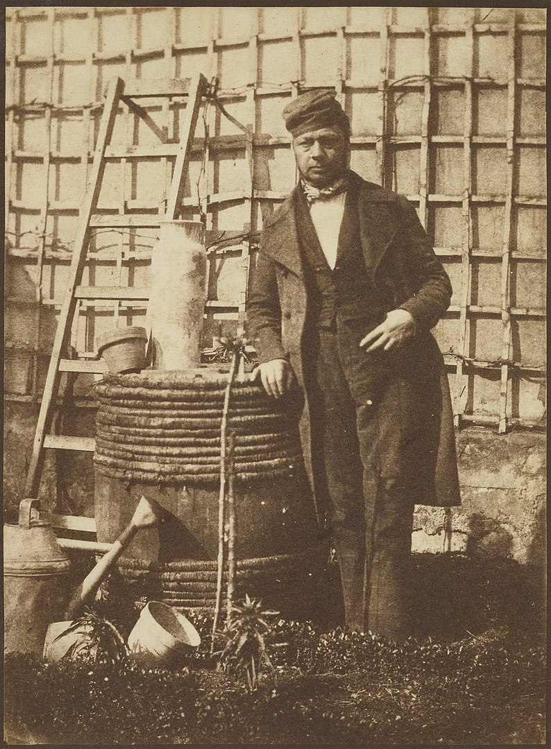 Fotó: Hippolyte Bayard: Önarckép, 1847