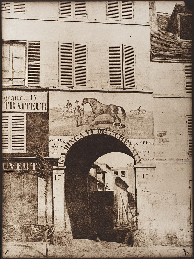 Fotó: Hippolyte Bayard: Párizs, 1847