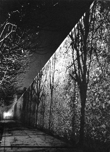 Fotó: Brassaï: A Santé börtön fala, Párizs, 1932 k., magántulajdon