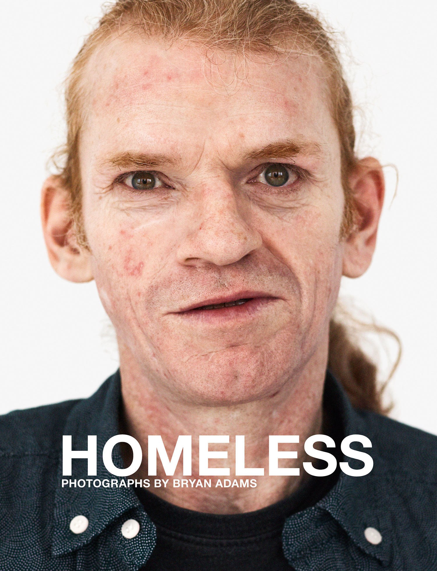 Bryan Adams: Homeless<br />Steidl, 160 p.<br />ISBN 978-3-95829-387-8<br />2019