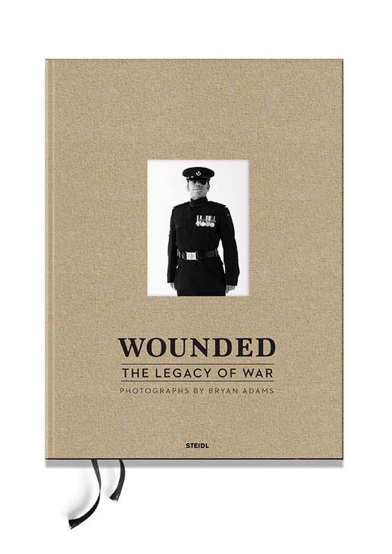 Bryan Adams: Wounded. The Legacy of War<br />Steidl, 304. p.<br />ISBN 978-3-86930-677-3