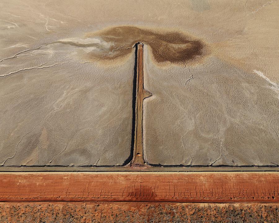 Fotó: Edward Burtynsky<br />Tailings #1 Kalgoorlie, Western Australia, 2007