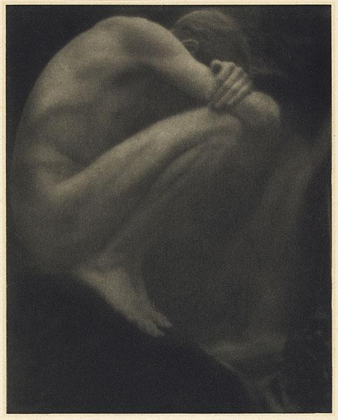 Fotó: George H. Seeley: Nude – The Pool, 1910 (megjelent: Camera Work 29.; 1910)