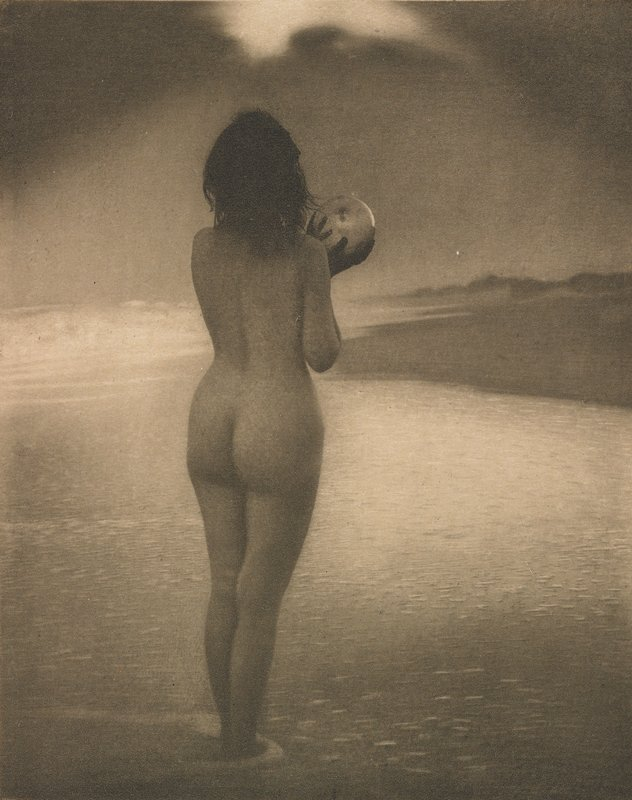 Fotó: Alice Boughton: Dawn, 1909 (megjelent: Camera Work 26.; 1909)
