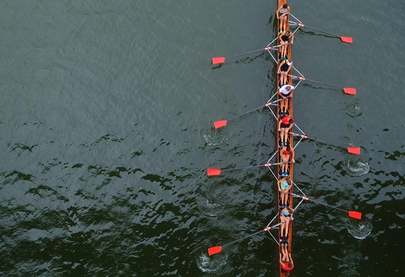 Fotó: Lakatos Benedek: Egy hajóban evezünk - Dunai mindennapok