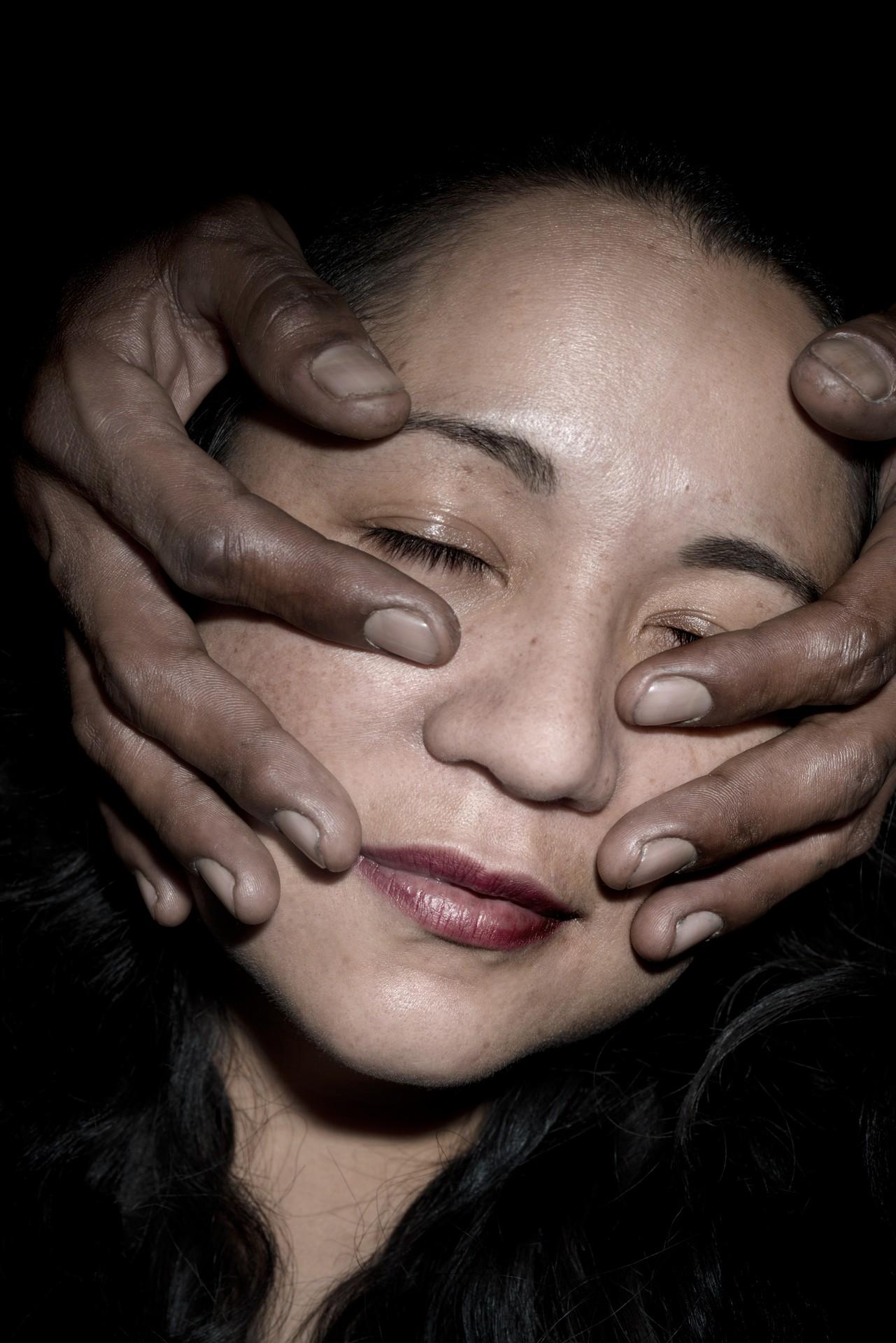 Fotó: Koleszár Adél: Alicia, részlet Az erőszak sebei című sorozatból