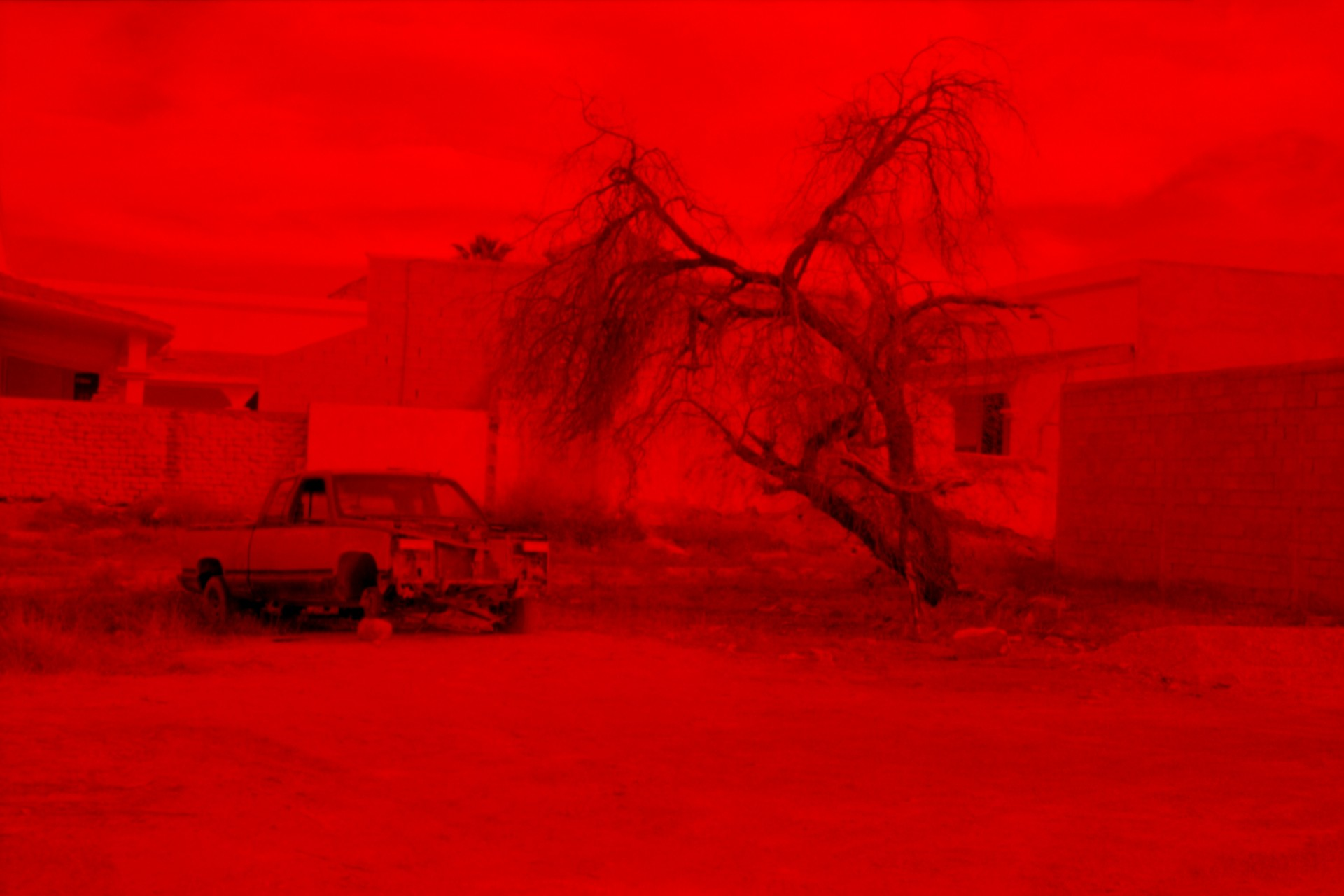 Fotó: Koleszár Adél: Torreon városképe, részlet Az erőszak sebei című sorozatból