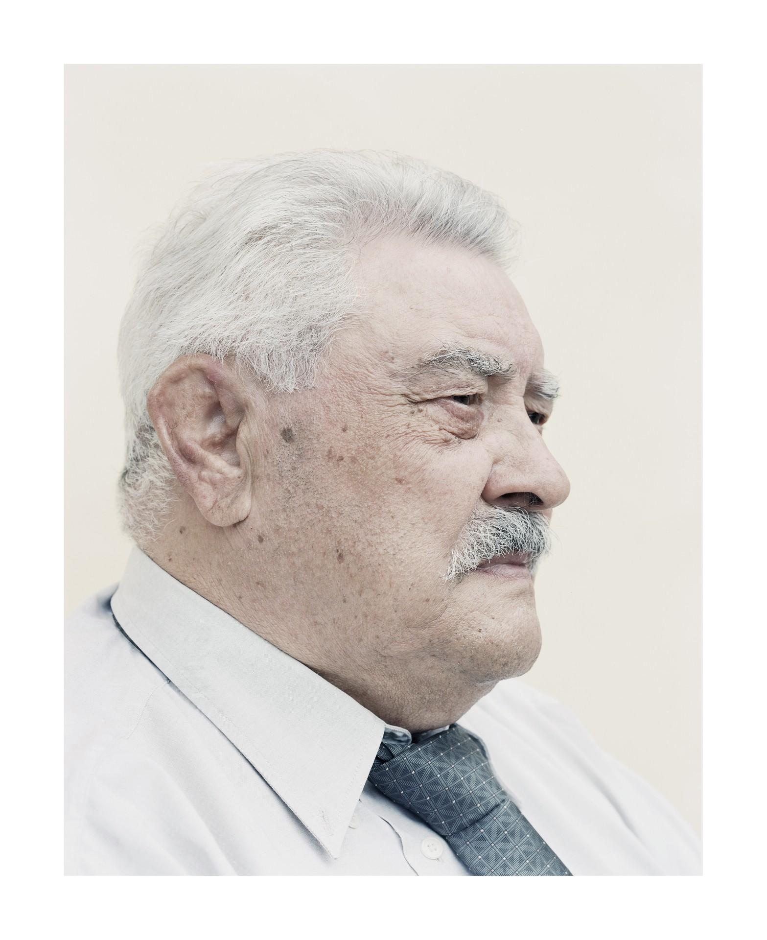 Fotó: Kovalovszky Dániel: Cseh Sándor portréja.