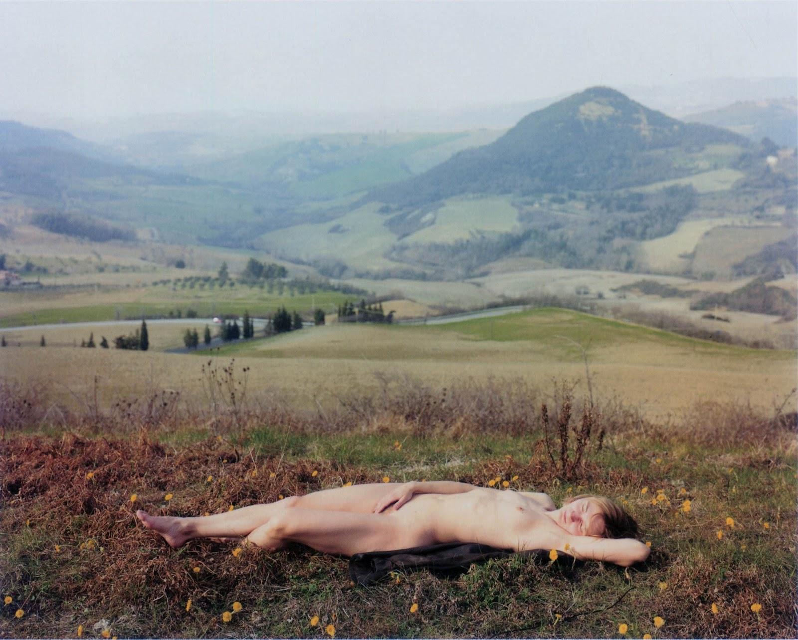 Fotó: Elina Brotherus: Nu Endormi, 2003 © Elina Brotherus