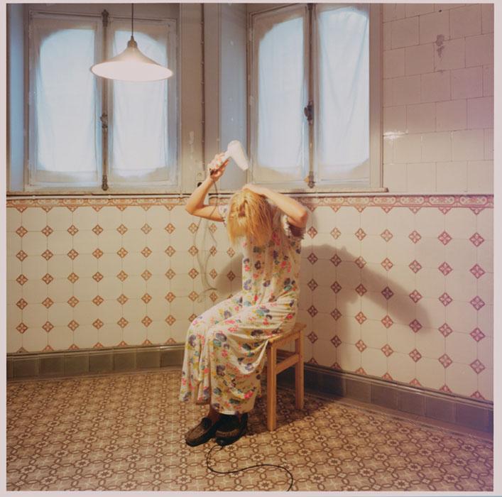 Fotó: Elina Brotherus: Reggel, 80x80 cm, 2001 © Elina Brotherus