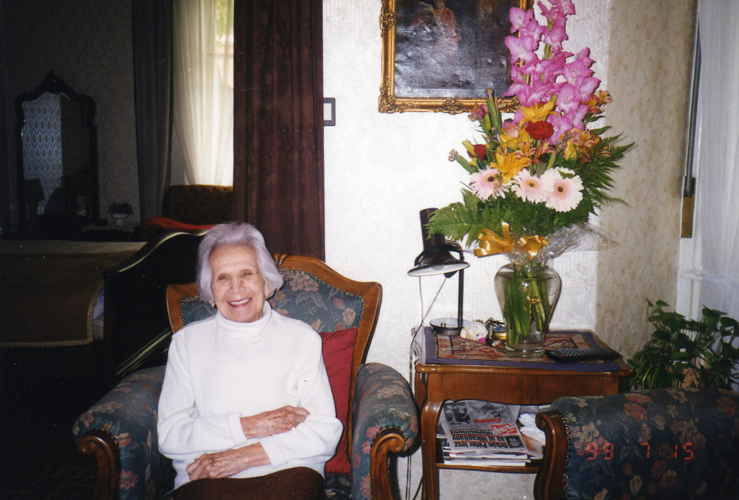 Rozi néni budapesti lakásában, dátum nélkül