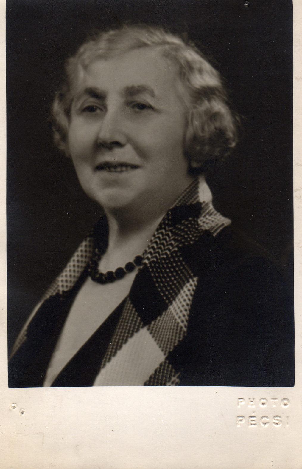 Fotó: Pécsi József: Denis Palos nagymamája, 1930-as évek közepe