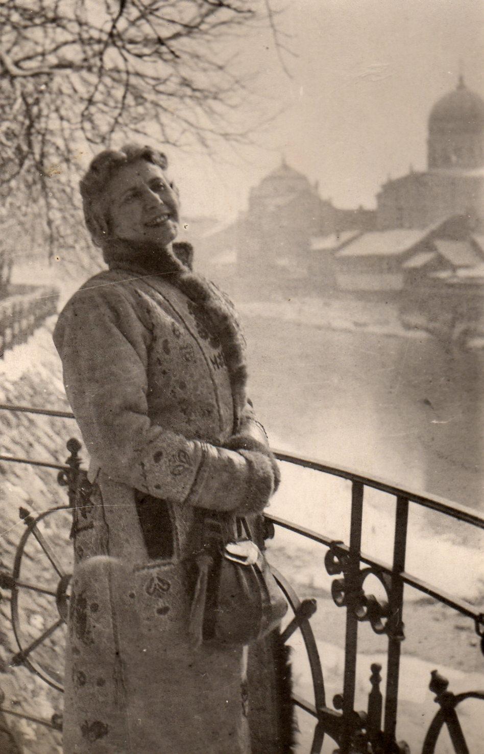 Fotó: Pécsi József: Rozi, Budapest, 1946. március