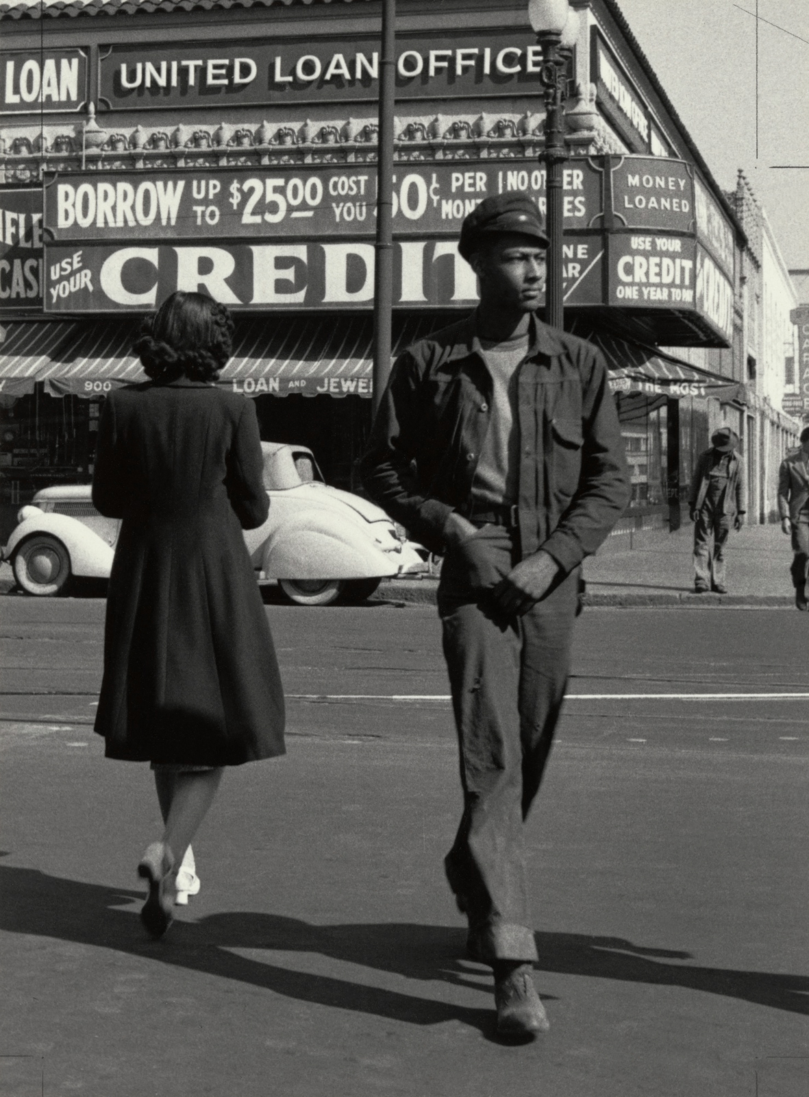 Fotó: Dorothea Lange: Western Addition, San Francisco, California, 1951