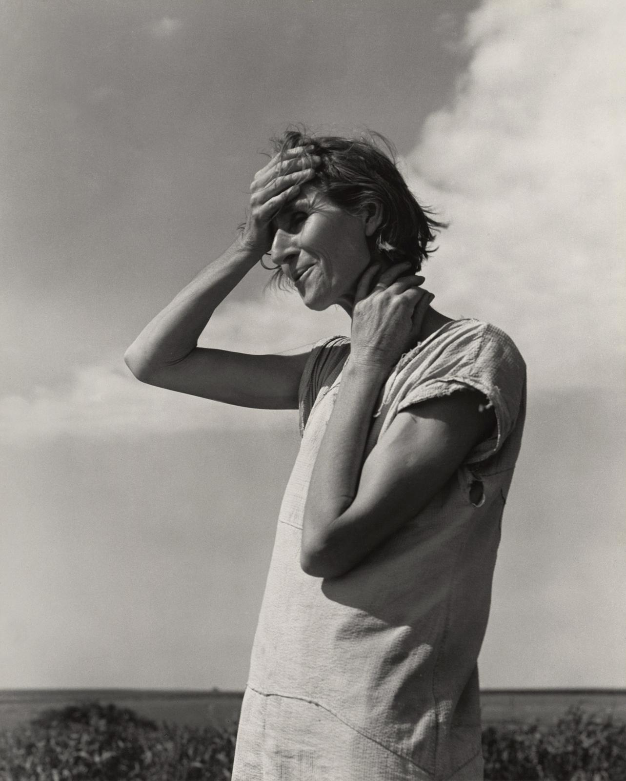 Fotó: Dorothea Lange: Texas Panhandle, June 1938