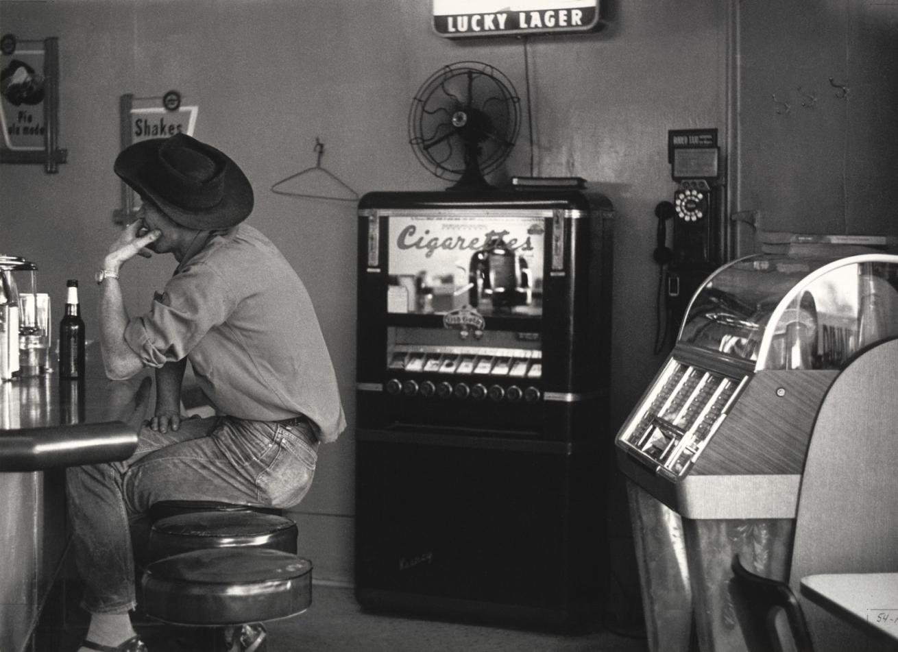 Fotó: Dorothea Lange: Kávézó Pinole mellett, California, 1956