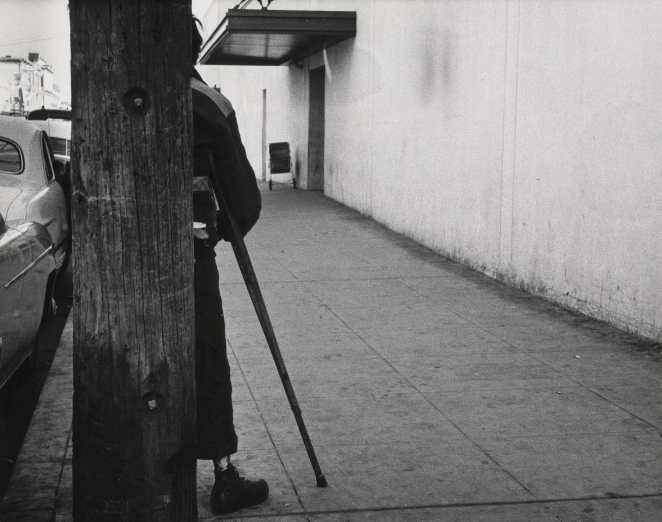 Fotó: Dorothea Lange: Oakland, 1954