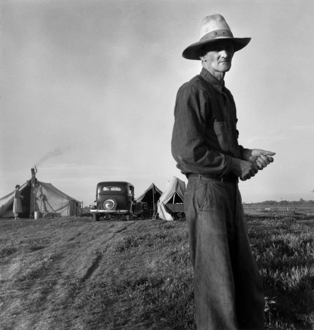 Fotó: Dorothea Lange: Aszálykárosult, c. 1935 © The Dorothea Lange Collection, the Oakland Museum of California
