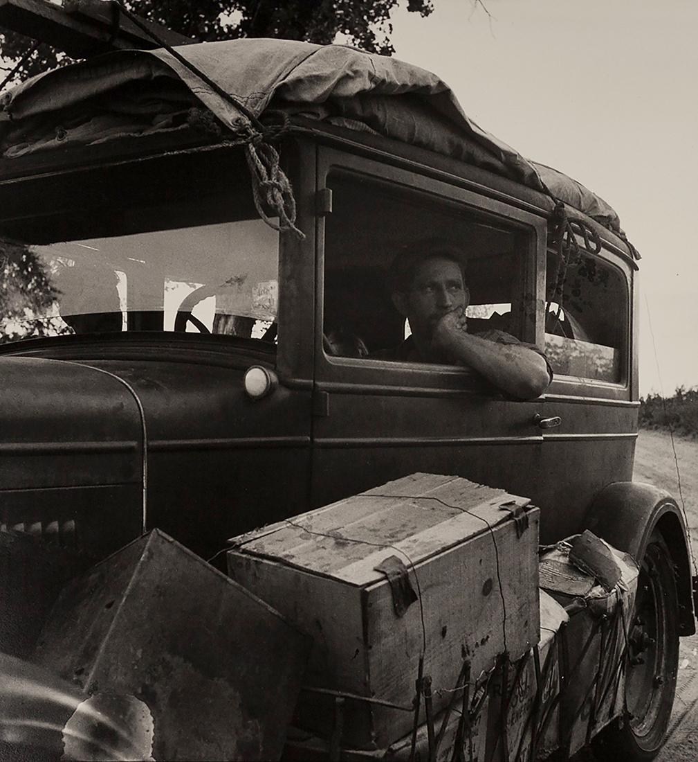 Fotó: Dorothea Lange: Cars on the Road, 1936, Library of Congress © The Dorothea Lange Collection, the Oakland Museum of California