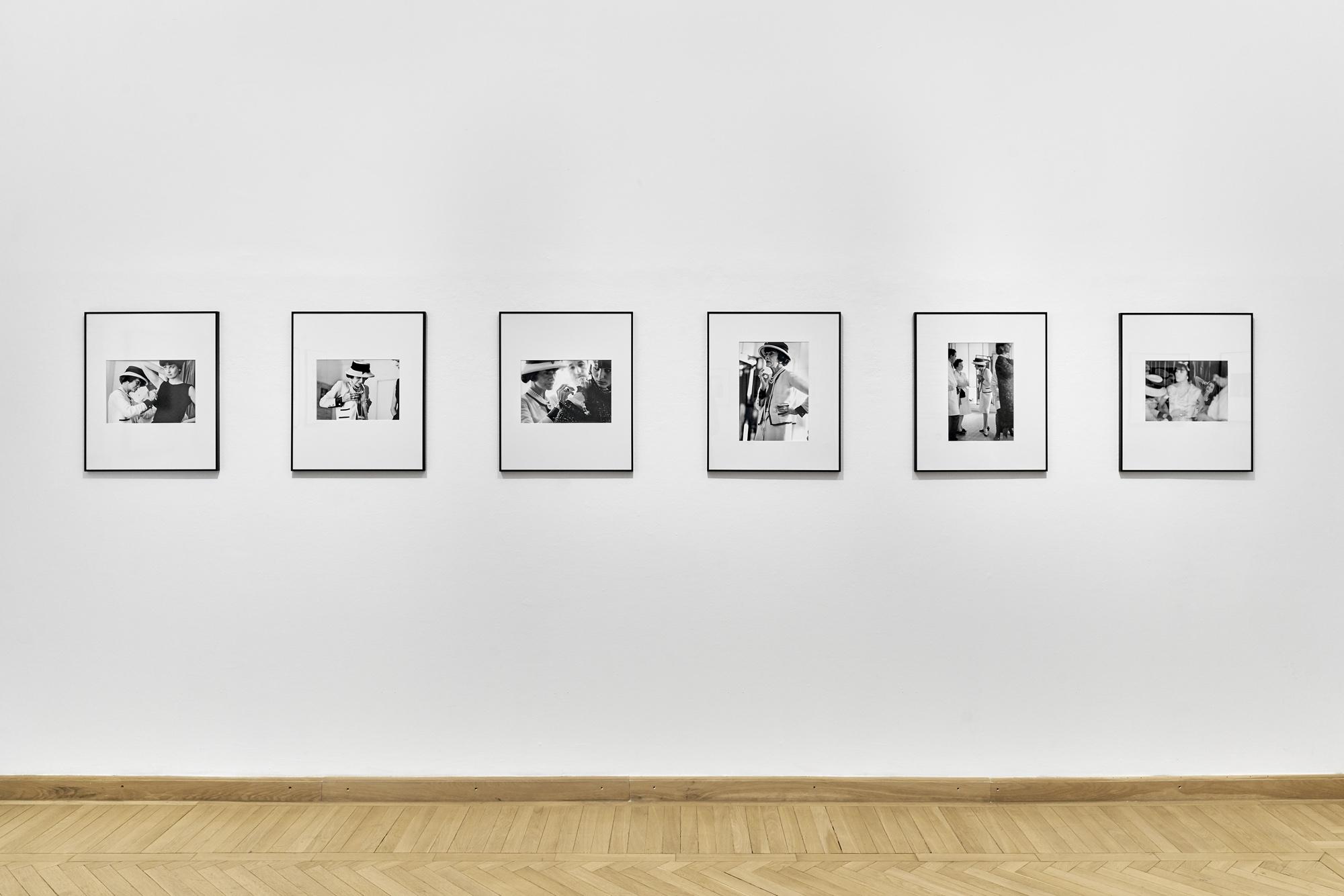 Douglas Kirkland: Coco Chanel - Mítosz és Elegancia kiállításunk a Mai Manó Házban<br /><br />Fotó: Kiss Imre