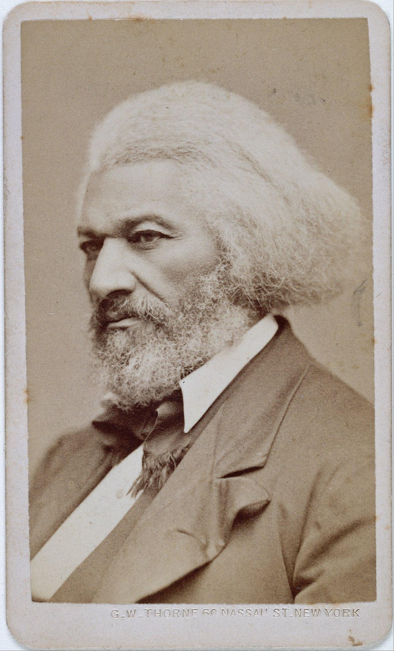 Fotó: George Kendall Warren: Frederick Douglass, 1876 (Google Cultural Institute )