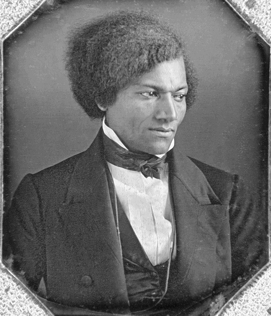 Fotó: Ismeretlen: Frederick Douglass, 1840 körül