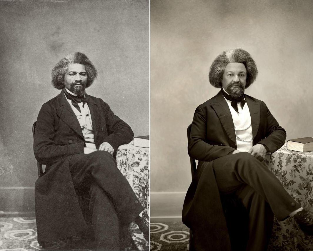 Fotó: Frederick Douglass / Drew Gardner: Kenneth Morris (harmadik generációs leszármazott)