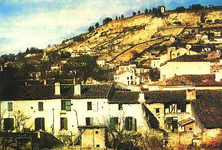 Fotó: Louis Ducos du Hauron: Agen látképe, 1870-71 © Wikimedia Commons