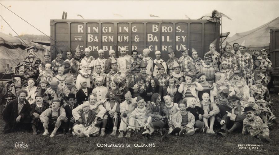 Fotó: Edward J. Kelty: Congress of Clowns. 1935 © Collection of Alain Siegel / Edward J. Kelty