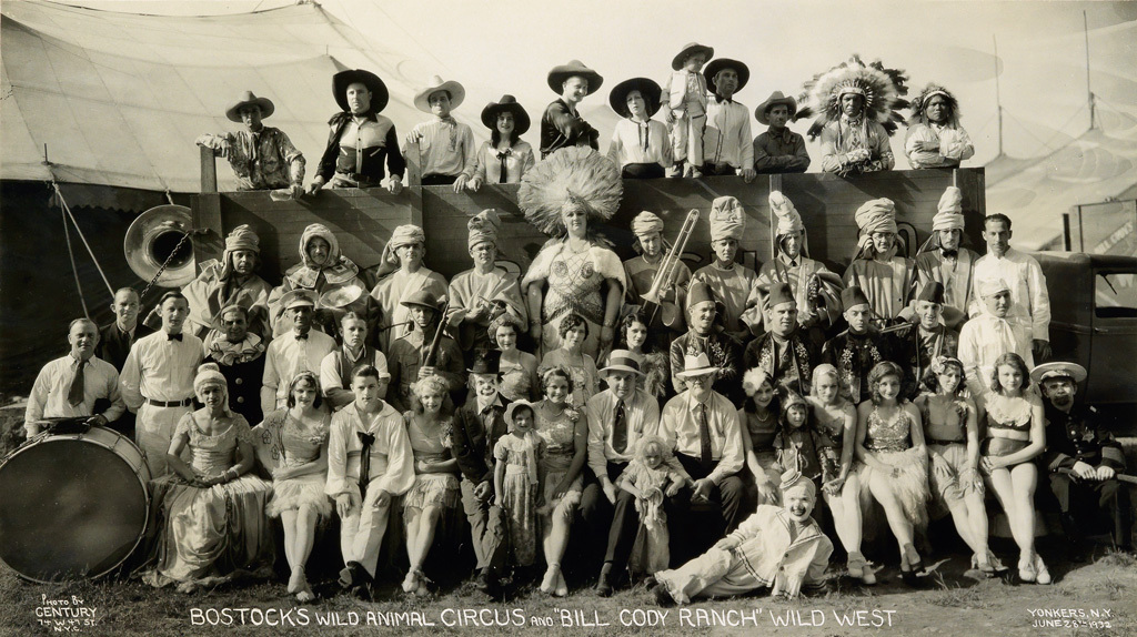 Fotó: Edward J. Kelty: Bostock's Wild Animal Circus, 1932-36 © Collection of Alain Siegel / Edward J. Kelty