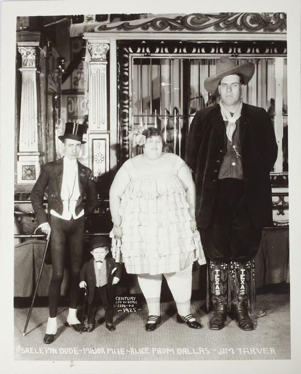 Fotó: Edward J. Kelty: A Quartet Of Freaks, 1925 © Collection of Alain Siegel / Edward J. Kelty