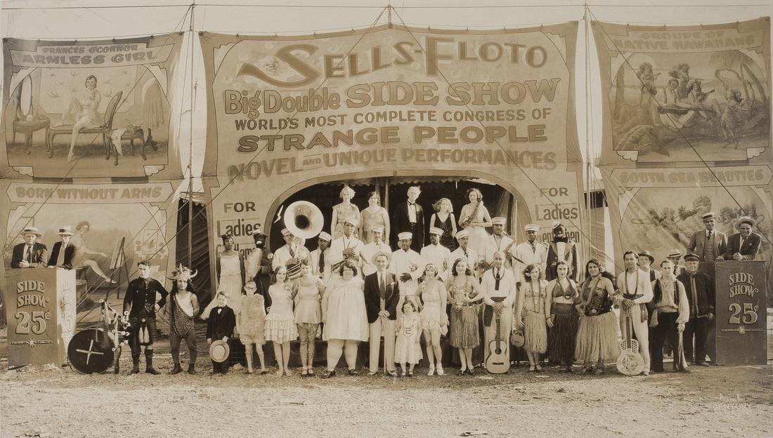 Fotó: Edward J. Kelty: Sells-Floto Circus, 1930 körül © Collection of Alain Siegel / Edward J. Kelty
