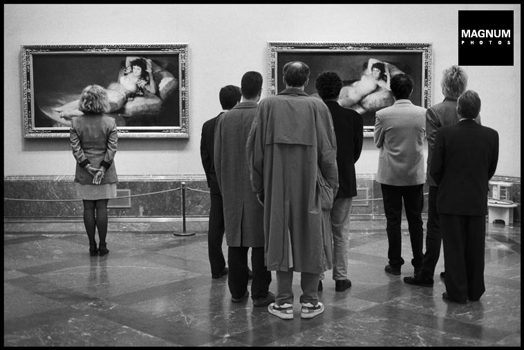 Fotó: Elliott Erwitt: Madrid. Prado Museum, 1995 © Elliott Erwitt/Magnum Photos