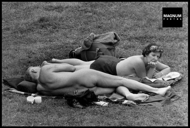 Fotó: Elliott Erwitt: Kent, 1968 © Magnum Photos