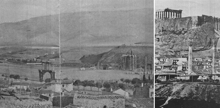 Athén, 1845<br />Fotók: ismeretlen