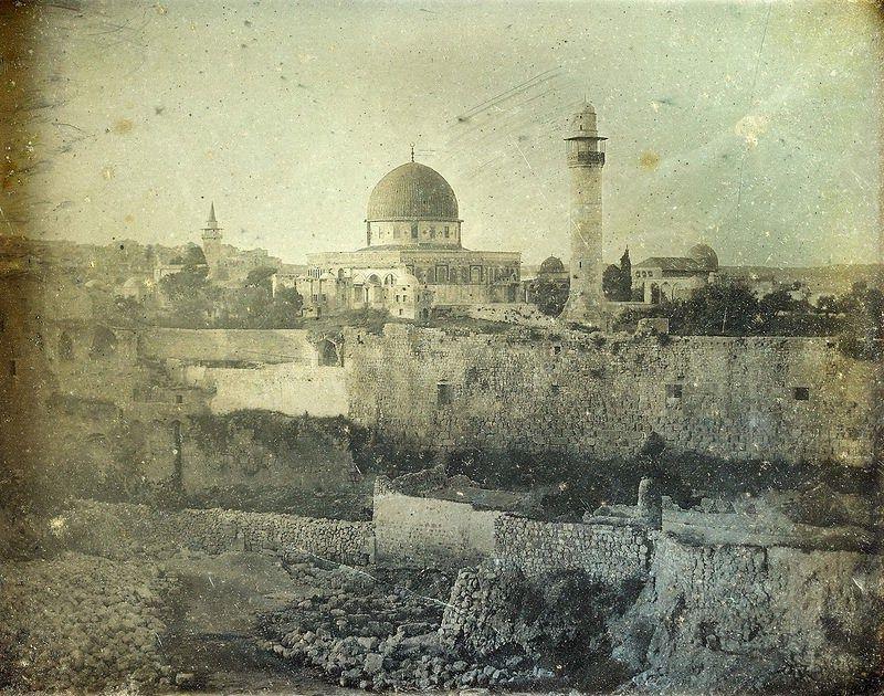 Jeruzsálem, 1844<br />Fotó: Joseph-Philibert Girault de Prangey