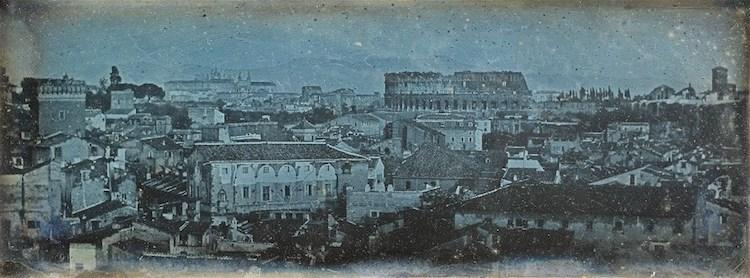 Róma, 1842<br />Fotó: Joseph-Philibert Girault De Prangey