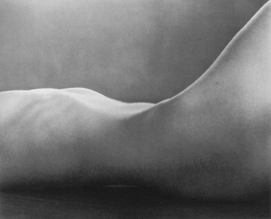 Fotó: Edward Weston: Nude, 1925 © Edward Weston