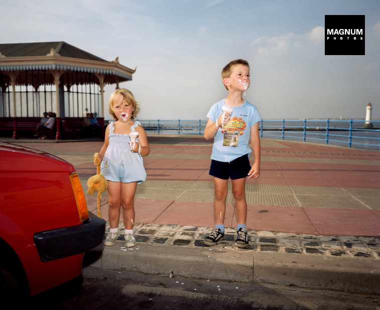 Fotó:  New Brighton. From The Last Resort, 1983-85 © Martin Parr