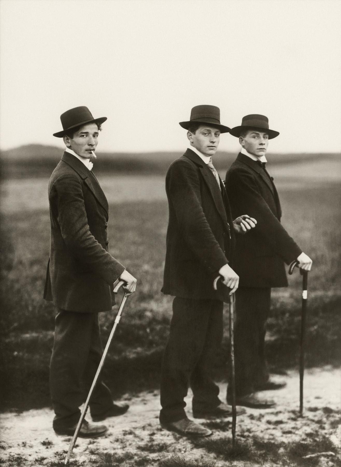 Fotó: Young farmers, 1914 © August Sander