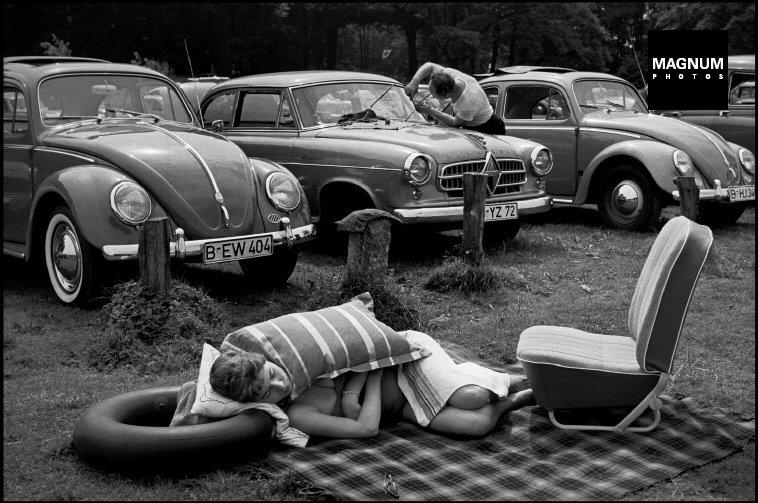 Fotó: Erich Lessing: New York, Central Park, 1958 © Erich Lessing/Magnum Photos
