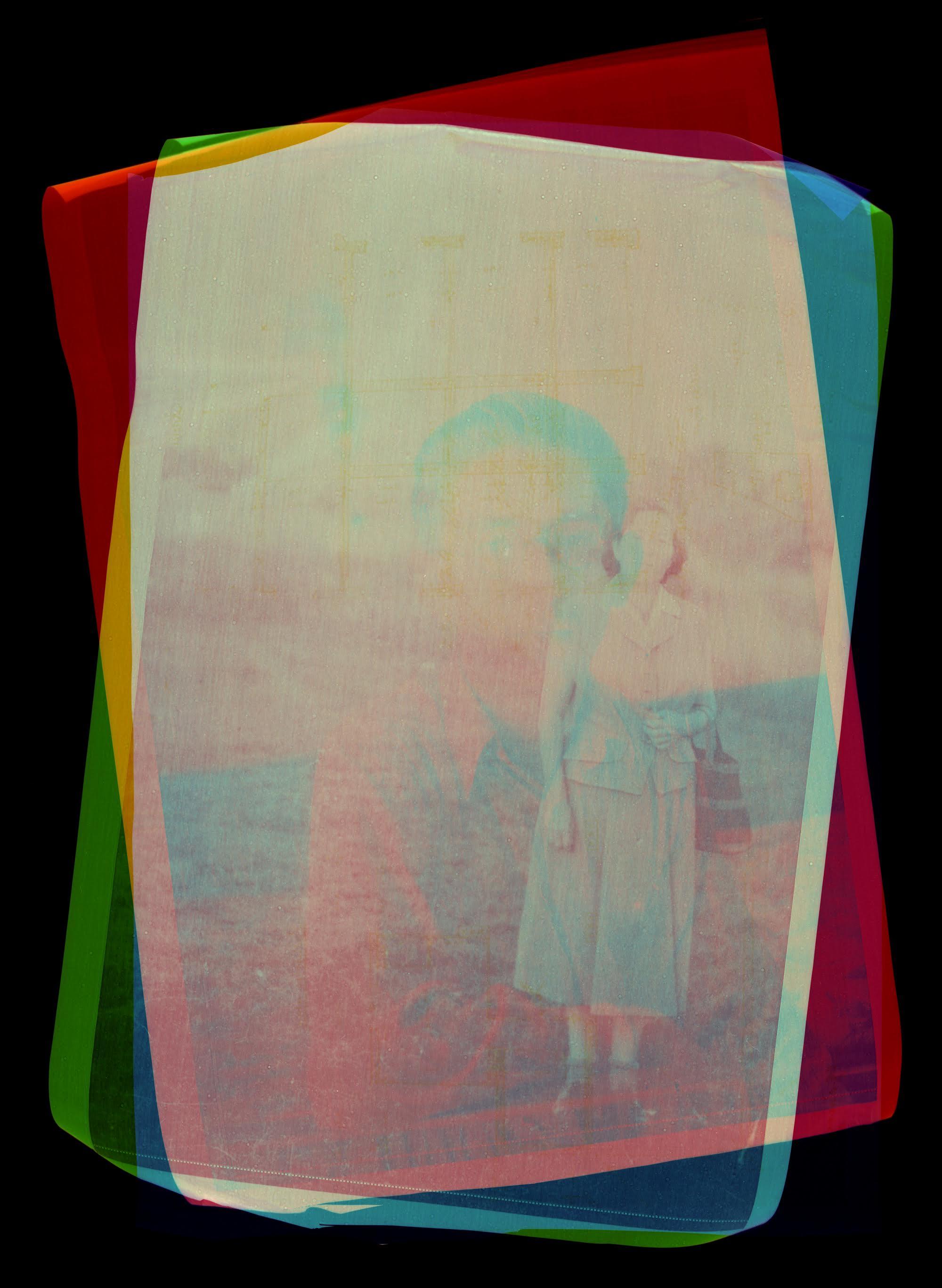 Fotó: Esterházy Marcell: Rétegek / Layers I.-III. (triptichon / Triptych), 2018<br />30 x 40 cm, giclée print