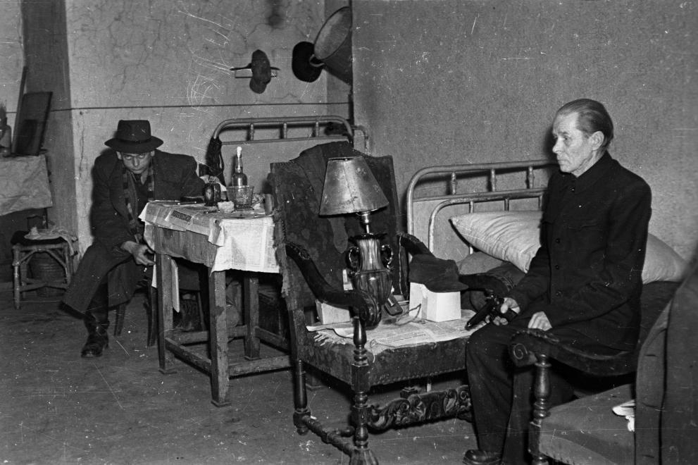 BRFK Hivatala Bűnügyi Technikai Osztály, 1957 © Fortepan / Budapest Főváros Levéltára. Levéltári jelzet: HU.BFL.XV.19.c.10